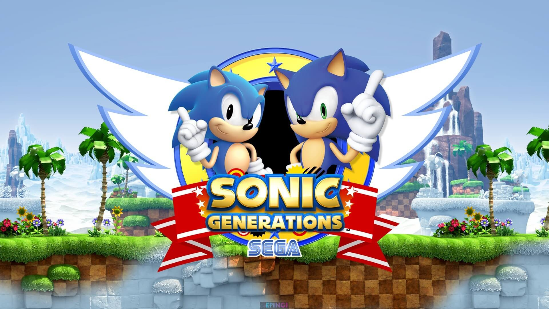 Sonic Generations for one dollar on Steam summer Sale