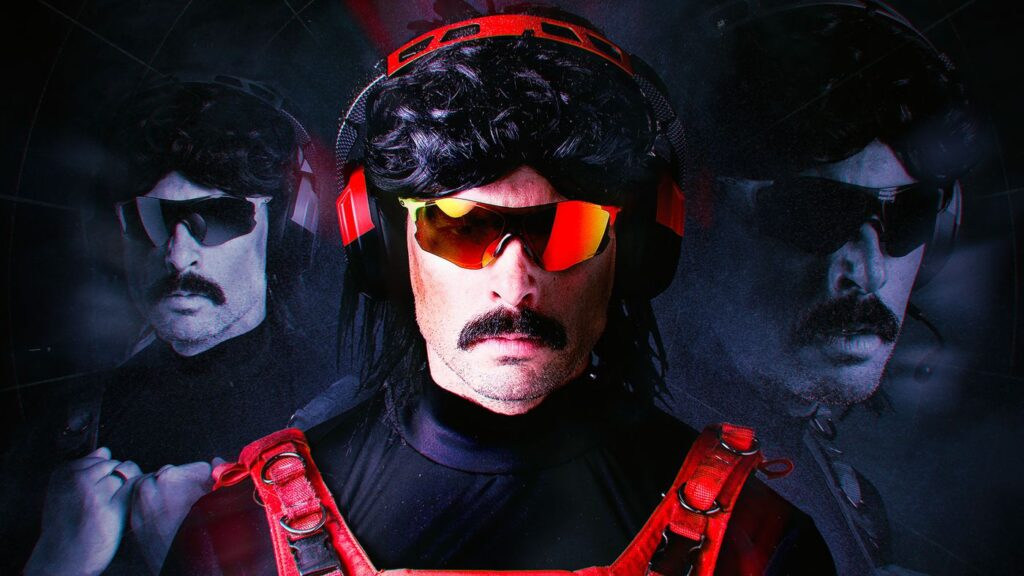Dr Disrespect is banned from Twitch