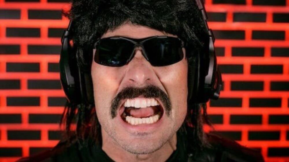 Dr Disrespect Banned.