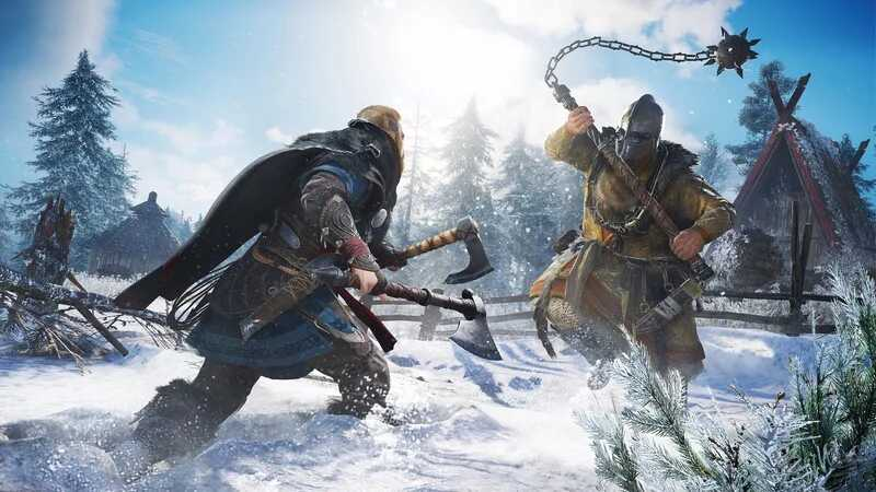 30 minutes of Assassin's Creed Valhalla gameplay leaked video