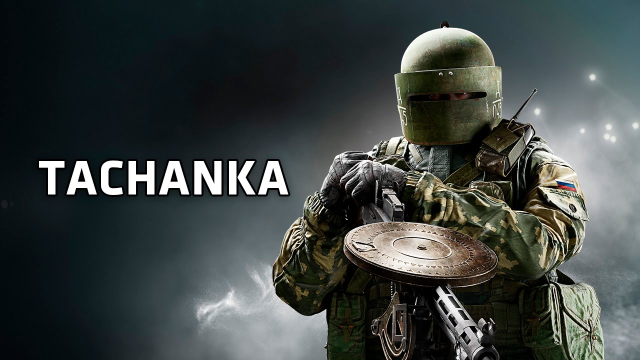 New Big Tachanka In Rainbow Six Siege's